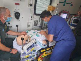 critical care transfer training